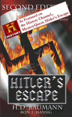 Hitlers Escape Book Cover